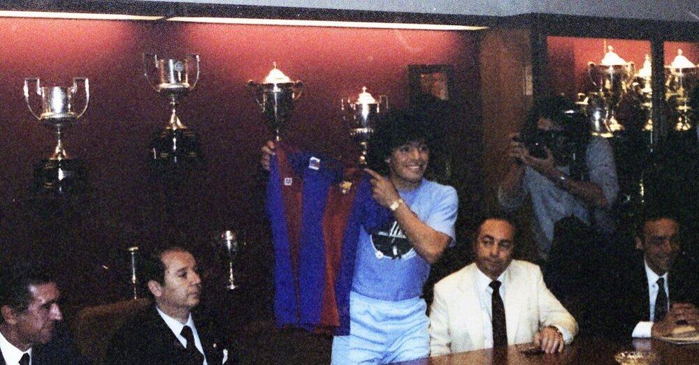وقتی مارادونا رکورد زد/عکس