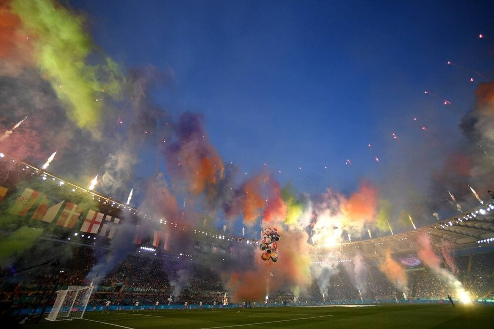 مراسم افتتاحیه یورو 2020 /عکس