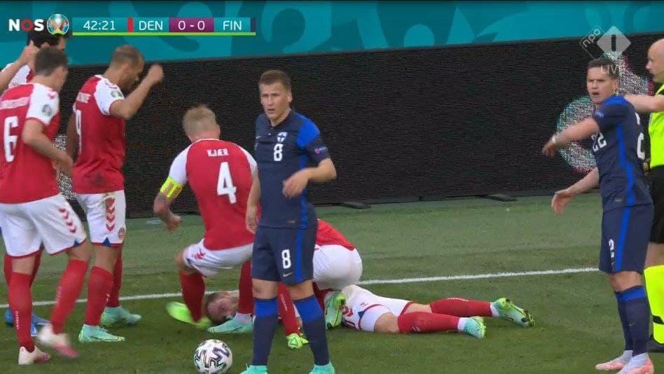 اتفاق ناگوار برای هافبک دانمارکی اینتر وسط یورو/عکس