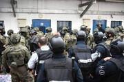 ببینید | ویدئو تکاندهنده از حمله زندانبانان صهیونیست به اسرای فلسطینی