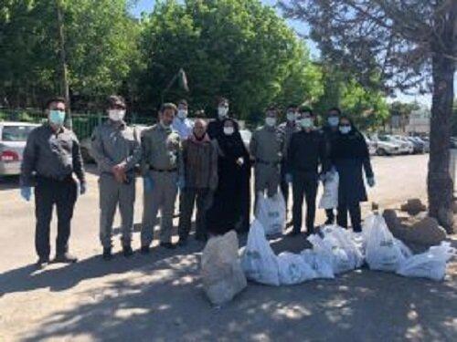 پاکسازی سراب کرتول بروجرد به مناسبت هفته محیط زیست