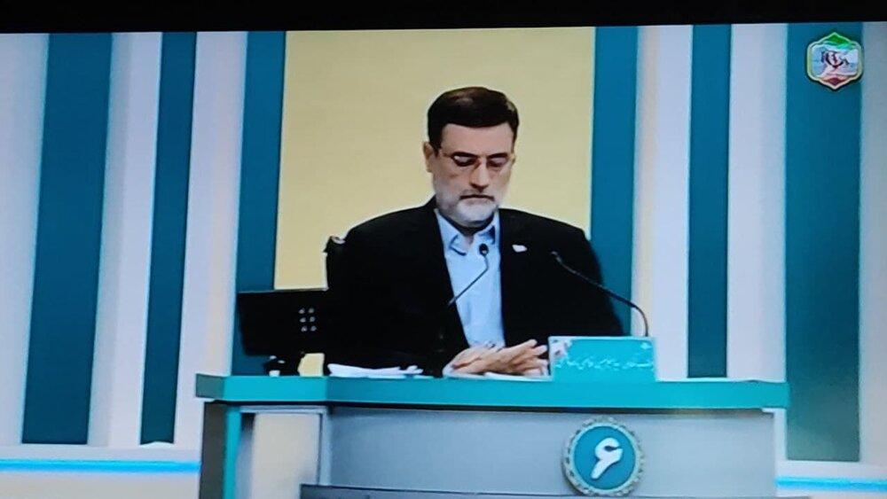 حمله به روحانی در شروع مناظره آخر /از دفترتان بیرون بیایید تا با شما مناظره کنم