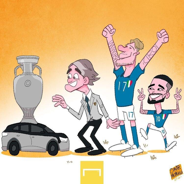 ببینید: جام یورو۲۰۲۰ دربست برای ایتالیاست!