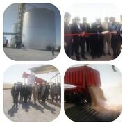 افتتاح سیلوی ١٠ هزار تنی ذخیرهسازی غلات و نهاده های دامی در شهرستان کوهدشت