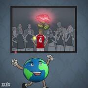 ببینید: نمایی ویژه از زندگی و ایست قلبی در زمین فوتبال!