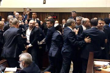 ببینید | جنجال در پارلمان اسرائیل