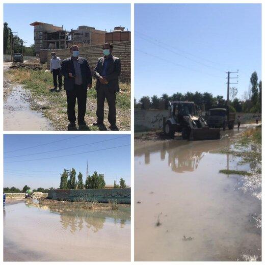 شکستگی خط اصلی انتقال آب در ارومیه / احتمال قطع آب و افت فشار در برخی مناطق شهر