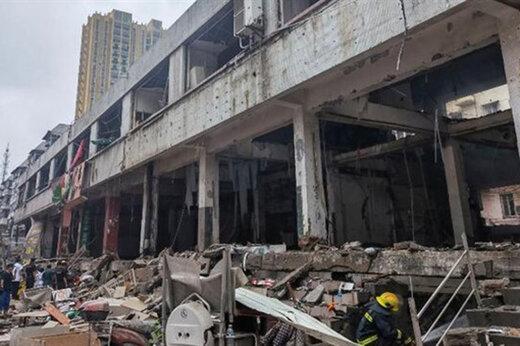 ببینید | انفجار مرگبار گاز در چین با ۱۱ کشته و ۳۷ زخمی