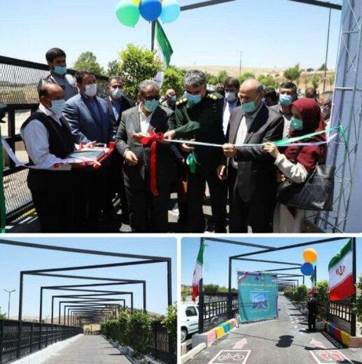 افتتاح پلهای طبیعت و سلامت قزوین با اعتبار ۱۴۲میلیاردریال
