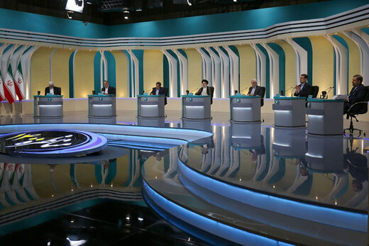 ببینید | حاشیههای آخرین مناظره تلویزیونی ریاست جمهوری