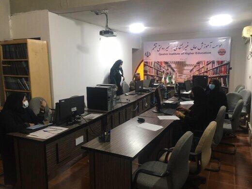 برگزاری آزمون های استاندارد های مهارتی وزارت فرهنگ و ارشاد اسلامی در قشم