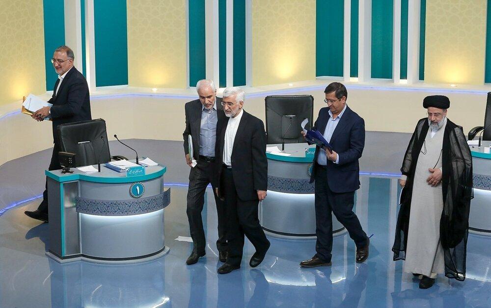 مناظره آخر؛ رئیسی گاف داد، جلیلی خودش بود، زاکانی بازهم احمدی نژاد شد