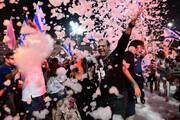 ببینید | جشن بزرگ صهیونیستها از پایان نتانیاهو