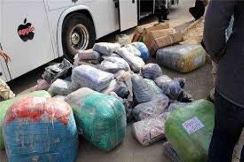 قاچاقچی لباس در قزوین میلیاردی جریمه شد