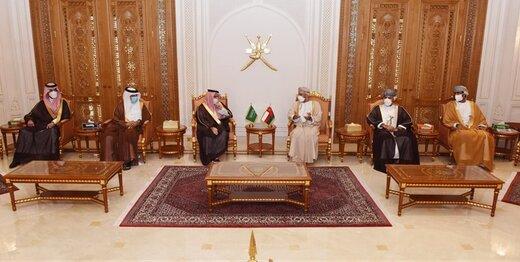 سفر بن فرحان به مسقط و پیام شاه سعودی به سلطان هیثم