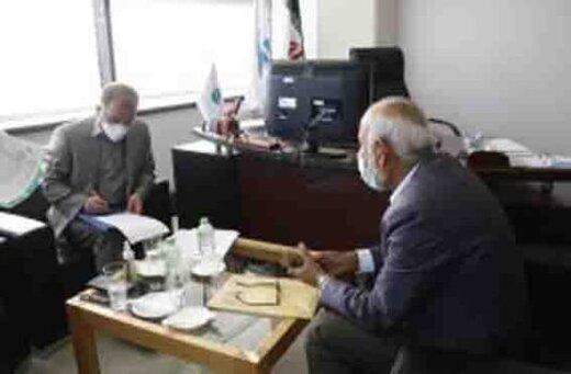 بررسی درخواست های شماری از ساکنان جزیره در جلسه ملاقات مردمی مدیر عامل سازمان منطقه آزاد کیش