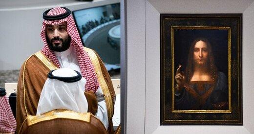 «بن سلمان» با تابلوی داوینچی روی فسادش سرپوش میگذارد