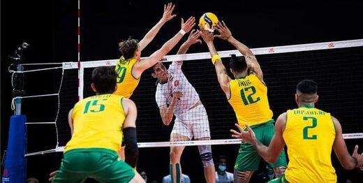 شکست دور از انتظار والیبال ایران مقابل استرالیا