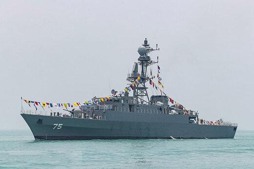 ببینید |  قدرتنمایی غرورانگیز نظامی ایران در دریا؛ جدیدترین ناوشکنهای پیشرفته ارتش