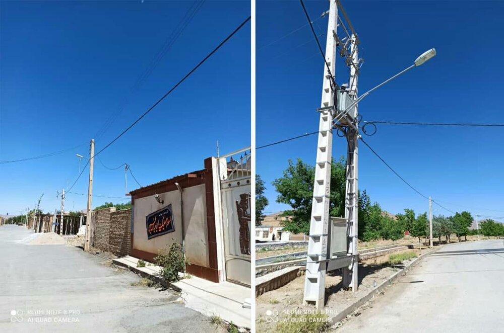 اجرای طرح  بهارستان در روستای تومانک شهرستان بن