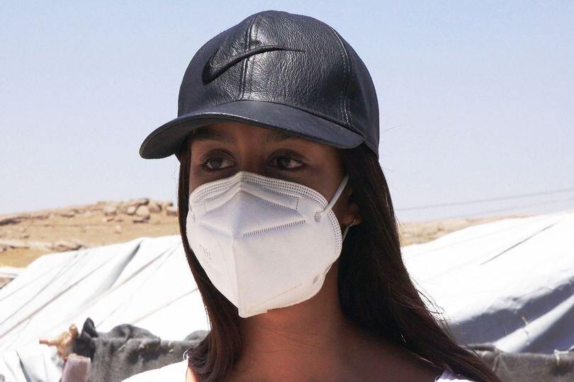ظاهر جدید عروس داعش/ بیگم: نادان بودم