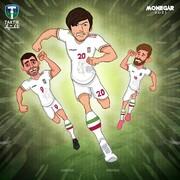 ببینید: نسخه ایرانی فوتبالیستها با سردار و طارمی!