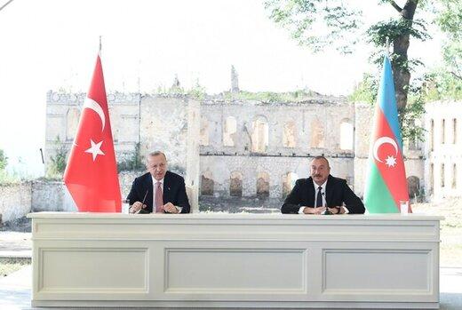 پیشنهاد اردوغان برای همکاری با ایران و روسیه در بازسازی قرهباغ