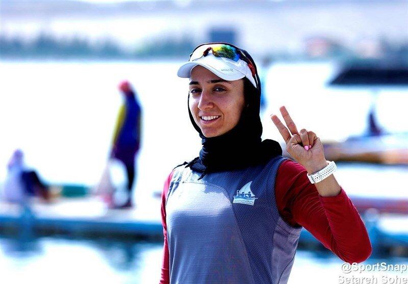 قایقران زن ایران: نباید عملکرد من را زیر سوال میبرد!
