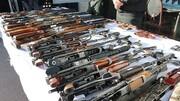 توقیف محموله اسلحه قاچاق از یک قایق