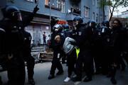 ببینید | آشوب و درگیری در پایتخت آلمان