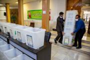 تصاویر | آماده سازی صندوقهای اخذ رای