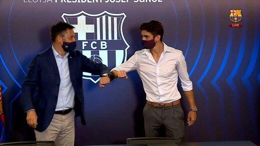 مسی در آستانه تمدید با بارسلونا