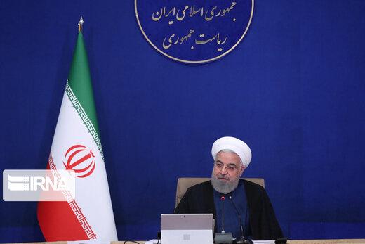 روحانی: از حرفهای بیاساس ناراحت نشوید، دروغها را باد میبرد