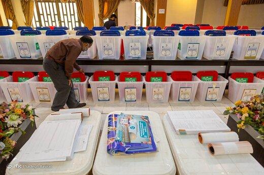 آماده سازی صندوقهای اخذ رای