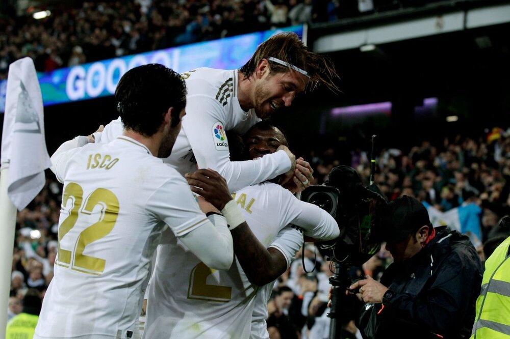 آخرین بازی رسمی راموس در سانتیاگو برنابئو/عکس