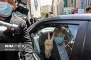 تصاویر | ژستهای متفاوت ناصر همتی پای صندوق انتخابات