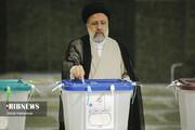 تصاویر | چهره های سیاسی در انتخابات ۱۴۰۰