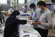 ببینید | حضور باشکوه ملت ایران در ساعات پایانی انتخابات