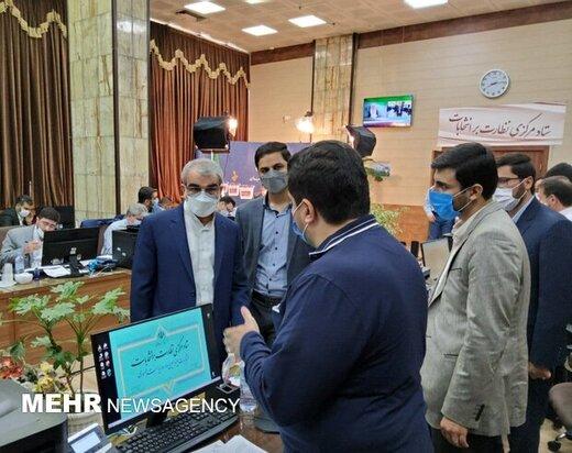 قائم مقام آیت الله جنتی رأی داد / سخنگوی شورای نگهبان به ستاد مرکزی نظارت بر انتخابات رفت