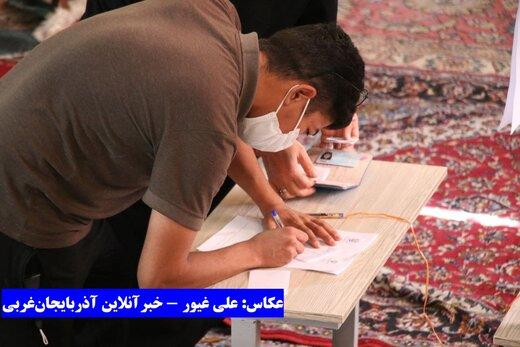 حضور ارومیهای و اعضای باشگاه ۹۰ در پای صندوقهای رای انتخابات ۱۴۰۰