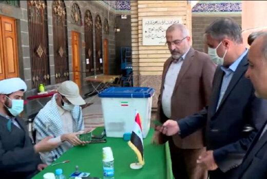 وزیر روحانی در سوریه رأی داد /مشارکت به ۵۰ درصد می رسد؟ /بازدید ۳ عضو شورای نگهبان از ستاد انتخابات کشور