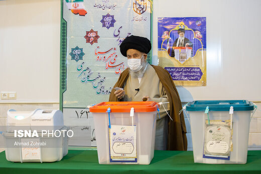 حضور شخصیت ها و مسئولین نظام در انتخابات ۱۴۰۰