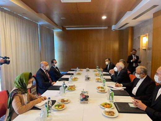 ظریف با وزیرخارجه افغانستان دیدار کرد