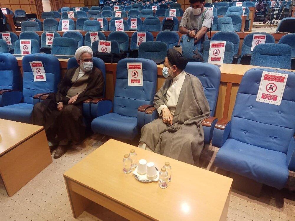 حضور وزیر اطلاعات در ستاد انتخابات +عکس