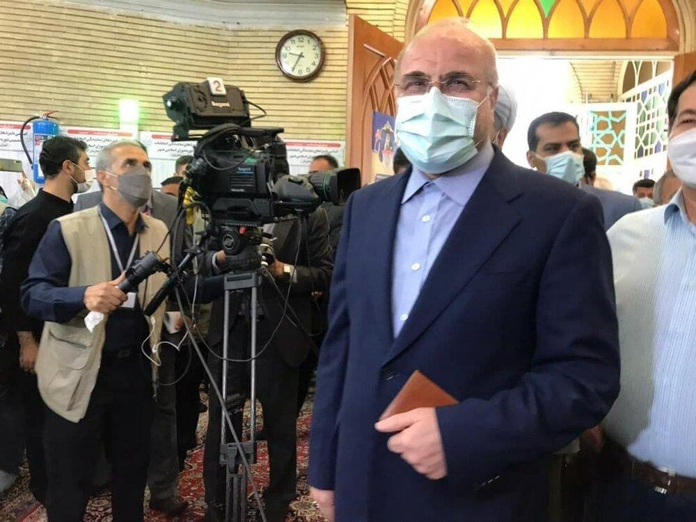 کاندیدای انصرافی به جماران رفت / قالیباف شناسنامه به دست آمد/ یک مرجع تقلید هم رای داد+ تصاویر