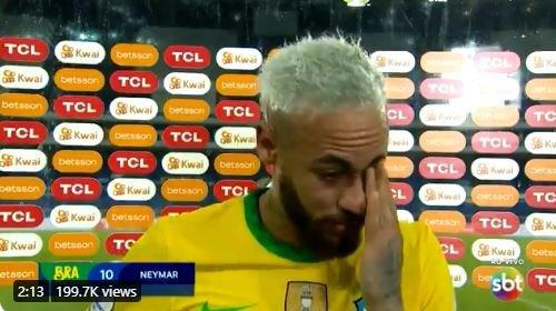 شبی که نیمار گریست!/عکس