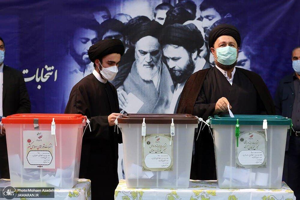 پسر سیدحسن خمینی: رأی صحیح دادم تا بازی آنها را برهم بزنم