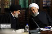 حسن روحانی به دیدار «رییسی»، رییس جمهور منتخب رفت