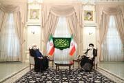 تصویری از حضور روحانی در دفتر رئیسی /آغاز اخلاقی و مدنیِ فرآیند انتقال امانت و مسؤولیت
