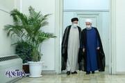شوخی - جدیهای مخاطبان با عکس دو نفره روحانی و رئیسی؛ علی برکت الله...
